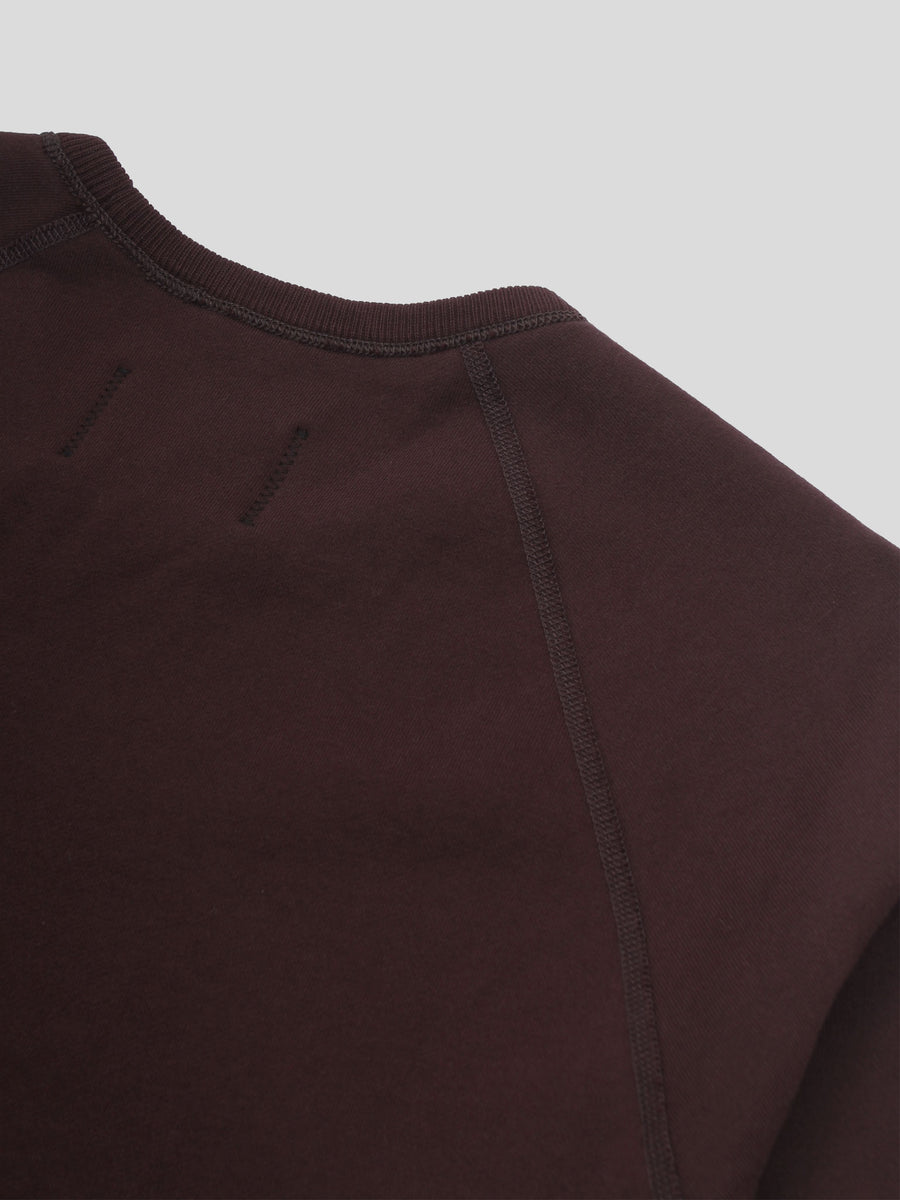 Knit Mid Wt Terry Long Sleeve Crew Neck