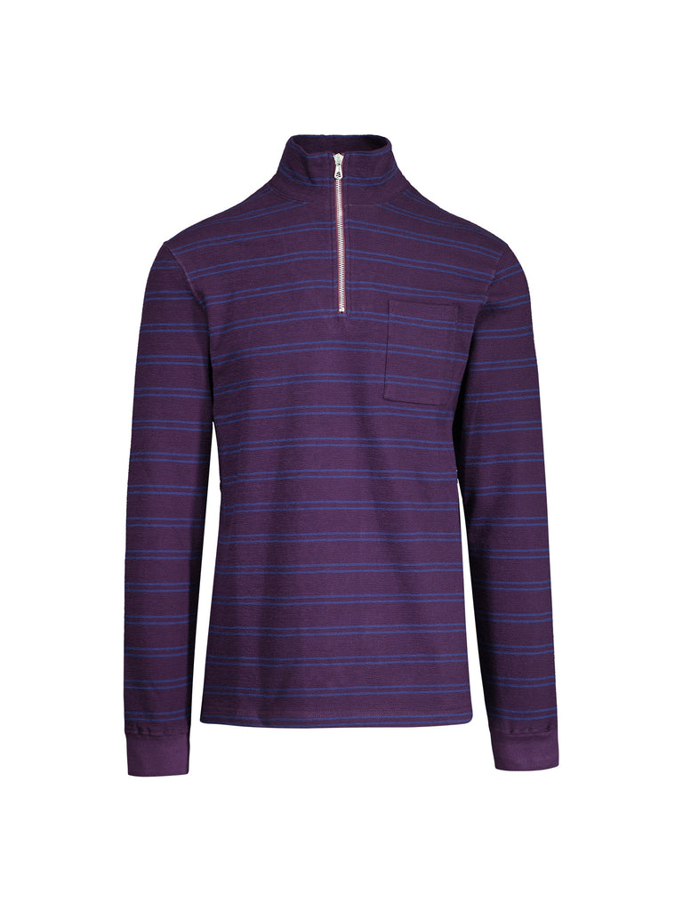 Half Zip Sweatshirt Stripe