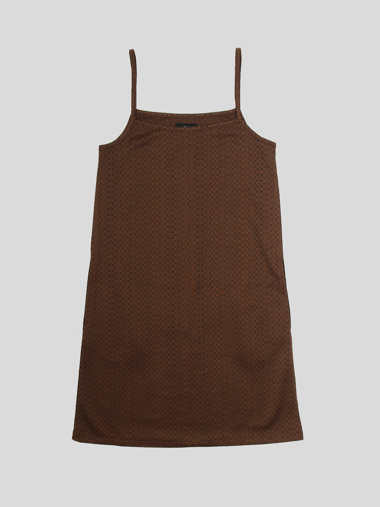 Tonal Jacquard Dress