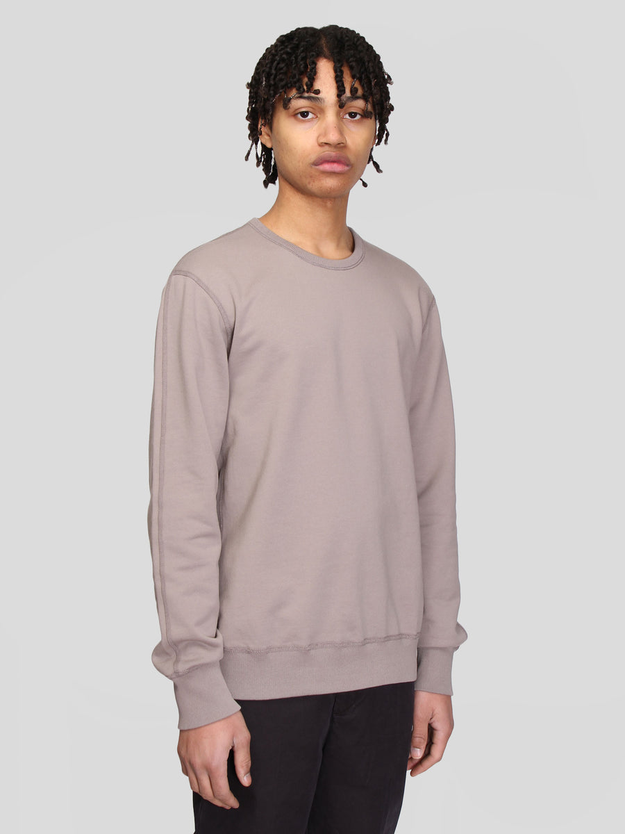 Knit Mid Wt Terry Long Sleeve Crewneck