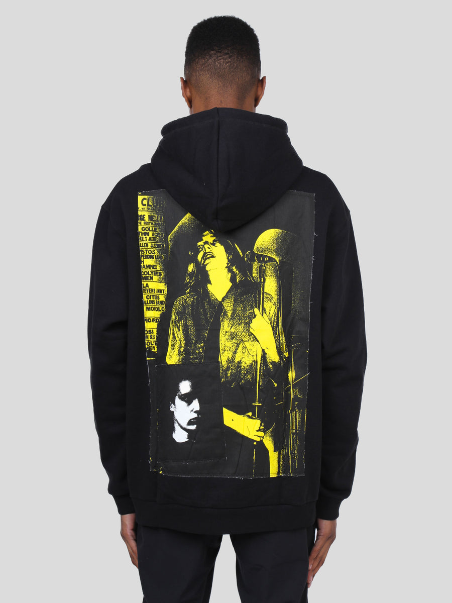 Pin Printed Patch Hoody