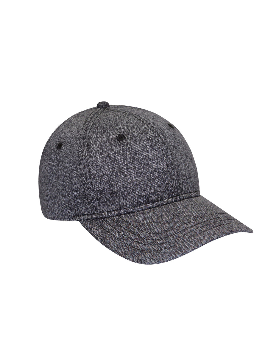 Woven Static Twill 6 Panel Hat