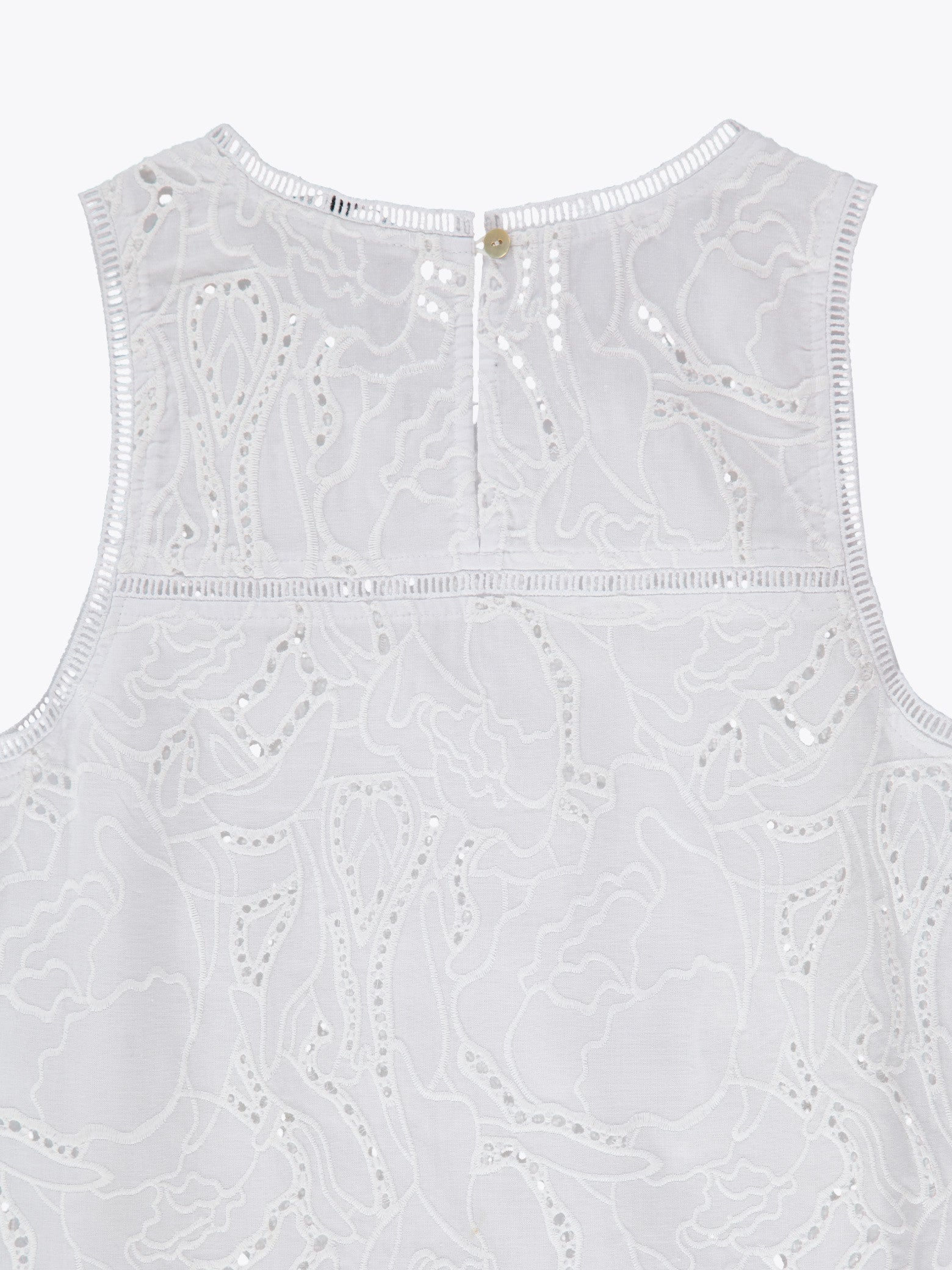 Portia Embroidered Tank