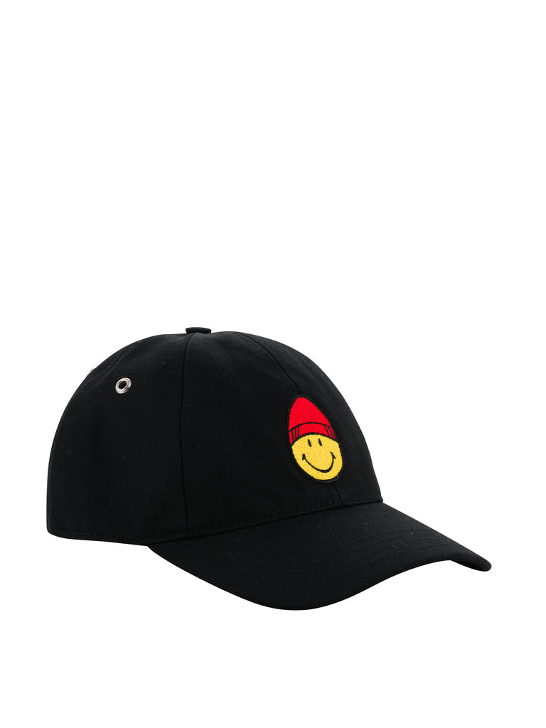 Smiley Patch Cap