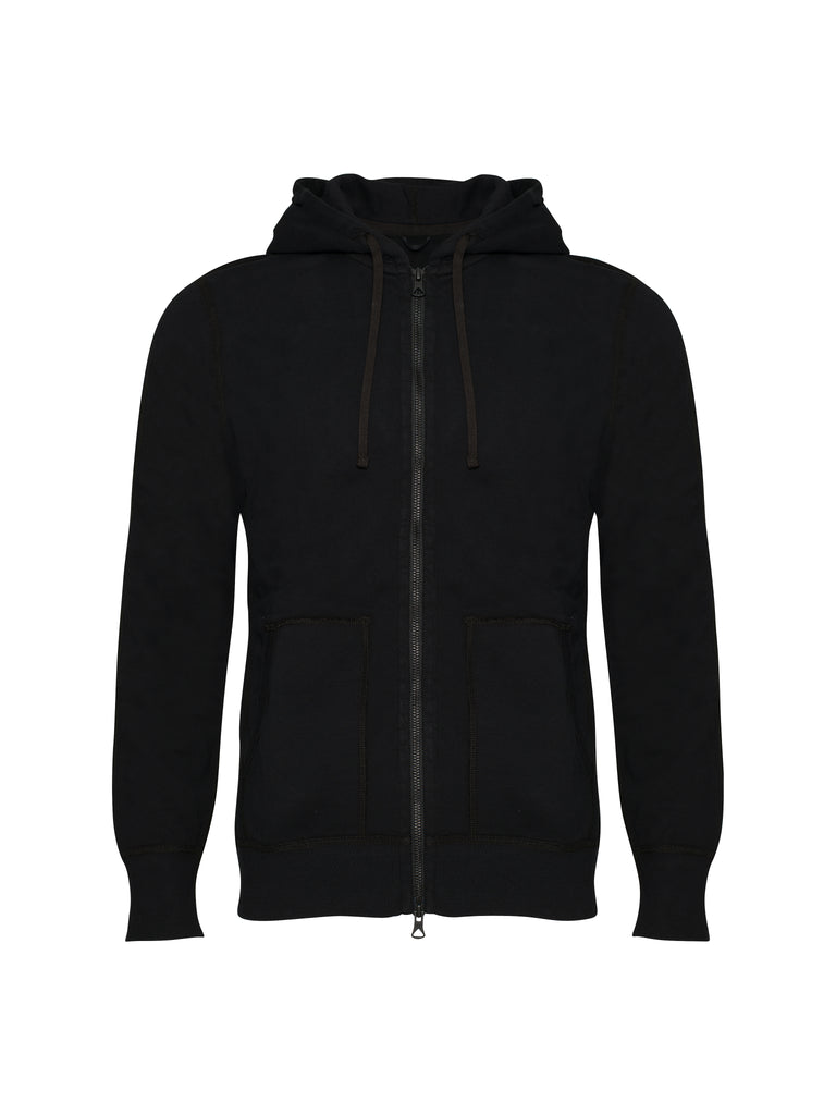 Knit Lightweight Terry Full Zip Hoodie