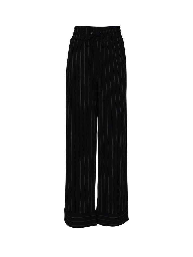Heavy Crepe Wide Pants