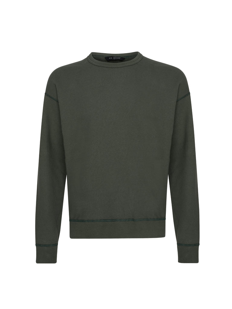 Knit Relaxed Fleece Crewneck