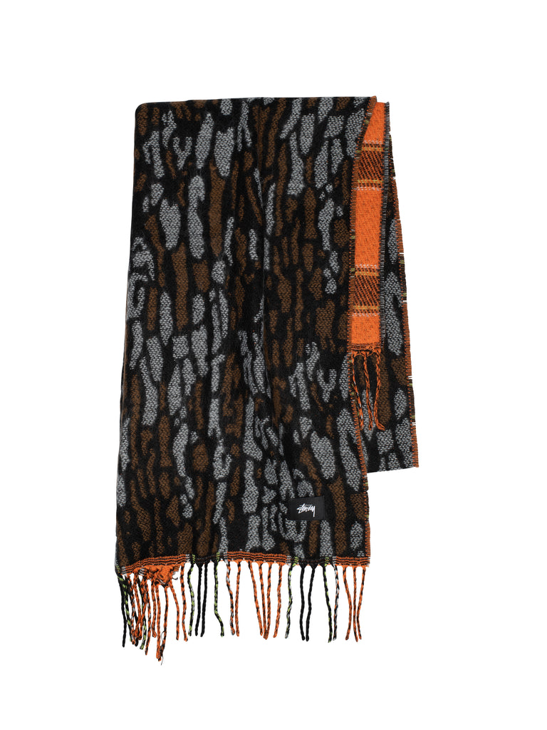 Tree Bark Wool Scarf