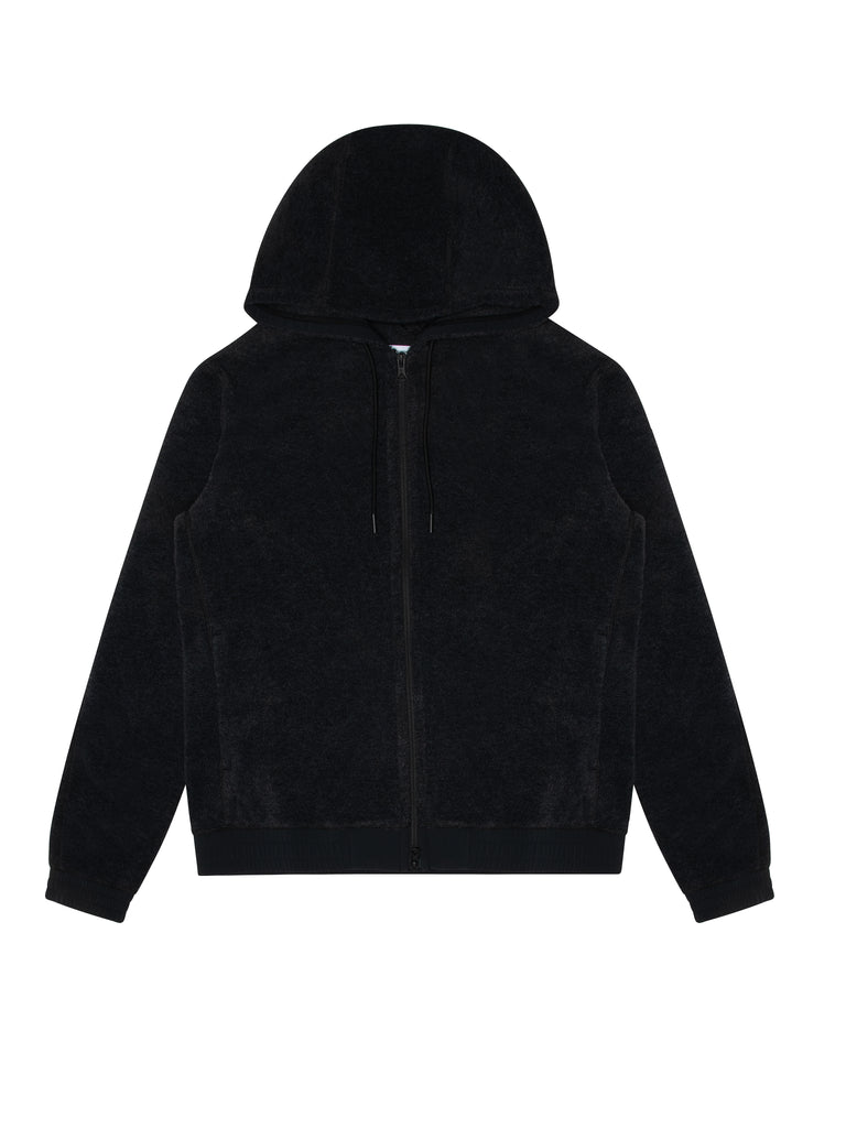 Knit Polartec Fleece Full Zip Hoodie