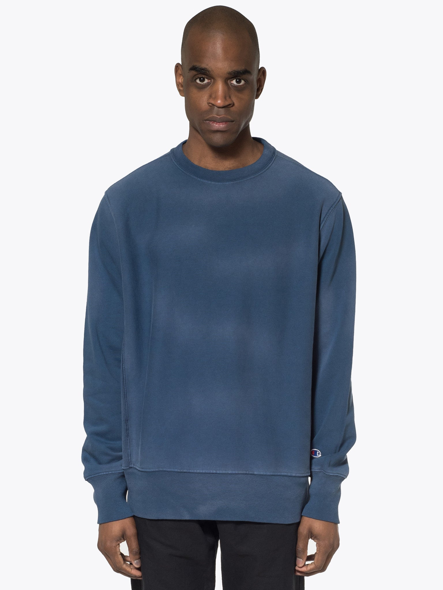 Enzyme Washed Classic Crewneck