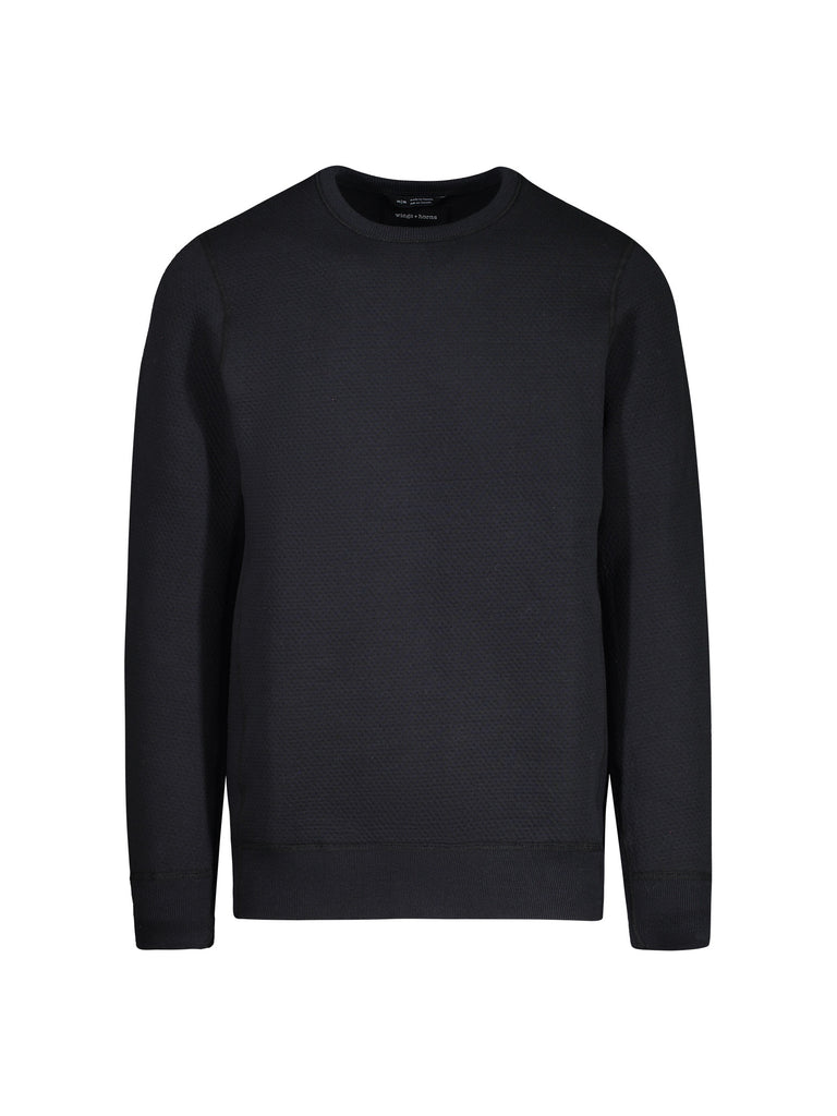 Knit Cabin Fleece Crewneck