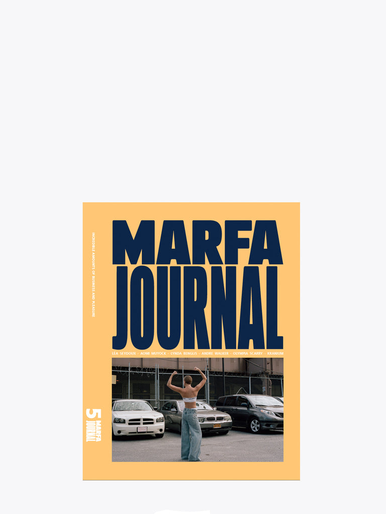 Marfa Journal No5