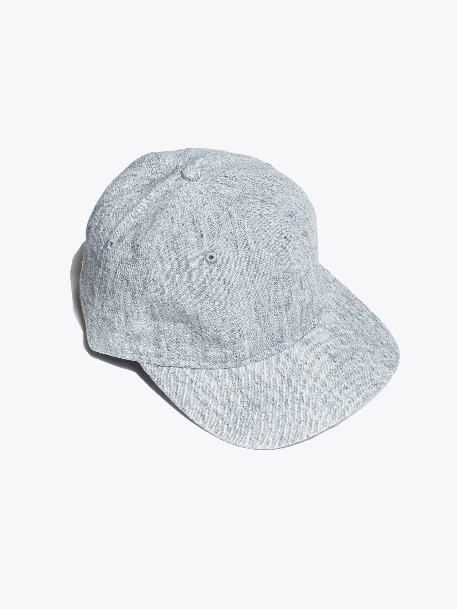 Washed Linen 6-Panel Hat