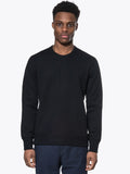 Side Zip Crewneck