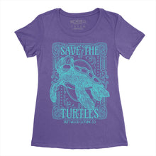 Save The Turtles Tee - Women's