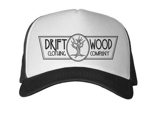 Driftwood Logo Trucker Hat - Black