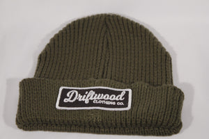Driftwood Heavy Knit Beanie - Forest