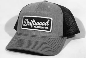 Driftwood Patch Hat - Grey/Black/White