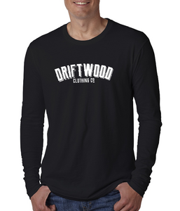 Men's Craft Brew Script Long Sleeve Tee - Black