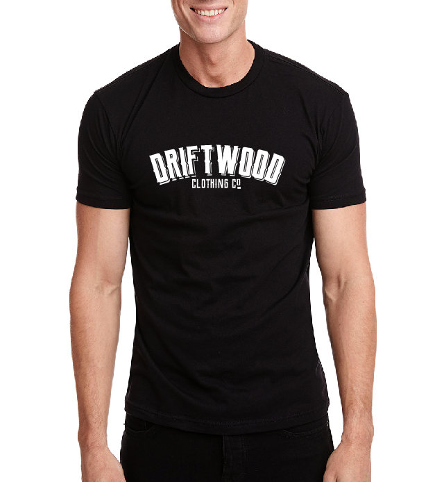 Men's Craft Brew Script Tee - Black