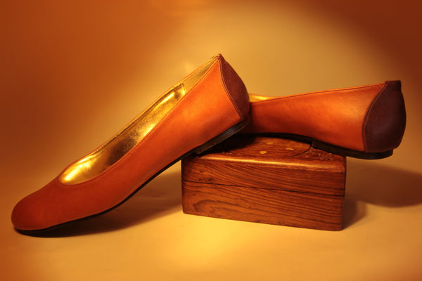 Orange'P Nawal Jes Flats