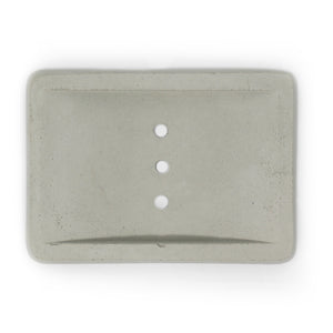 Concrete Soap Dish Rectangle