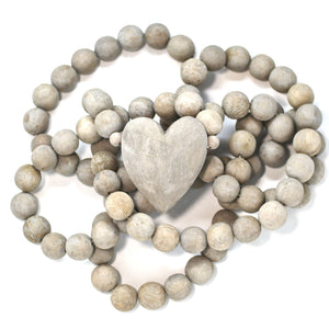 Heart Prayer Beads