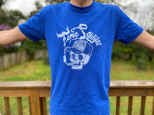 """Dead Fella"" - Royal Blue Soft T-Shirt"
