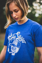 "Load image into Gallery viewer, ""Dead Fella"" - Royal Blue Soft T-Shirt"
