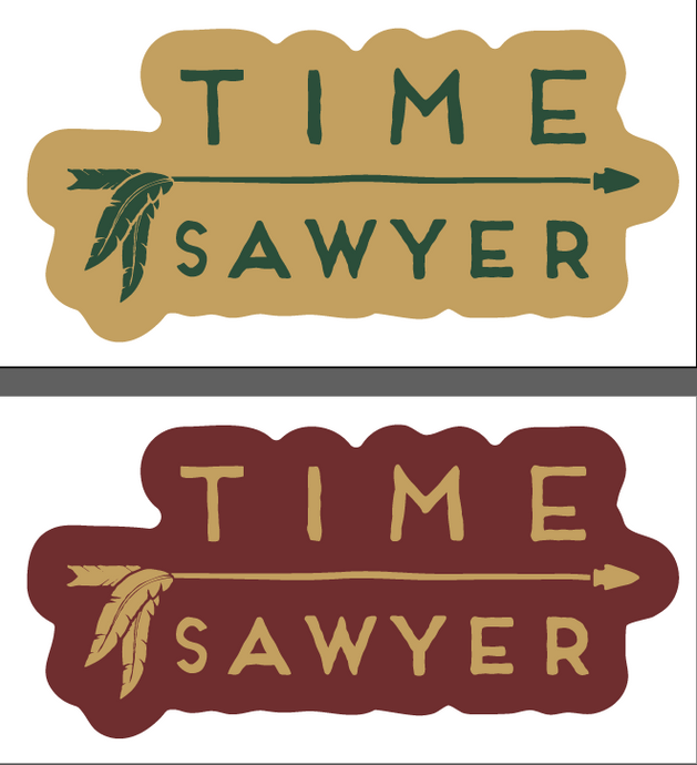 Time Sawyer - Sticker