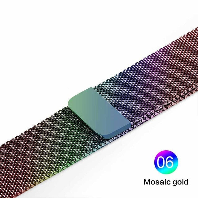 Milanese Loop For Apple Watch Band