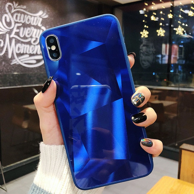3D Mirrored Back Iphone Case