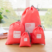 Load image into Gallery viewer, Happy Flight Organizing Bags - 4 Piece Set