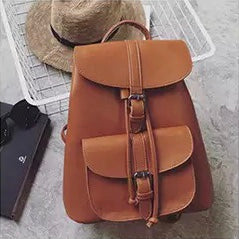 Leather Traveler's Backpack
