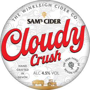 Sam's Cloudy Crush Cider (20L Box) 4.5% ABV