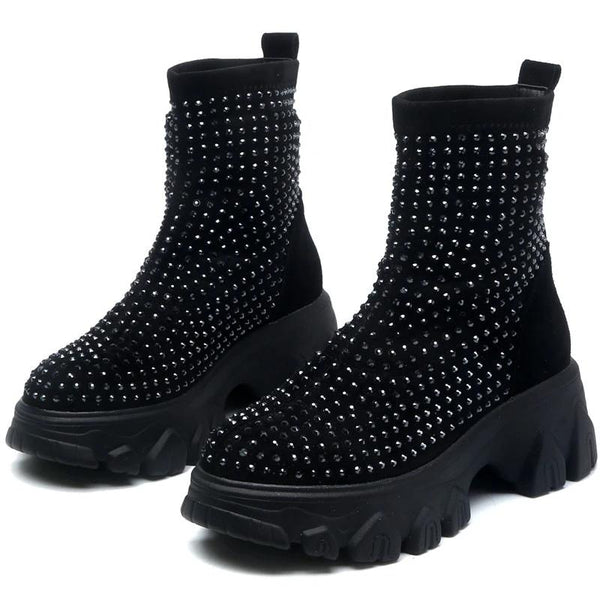 Speckle Boots