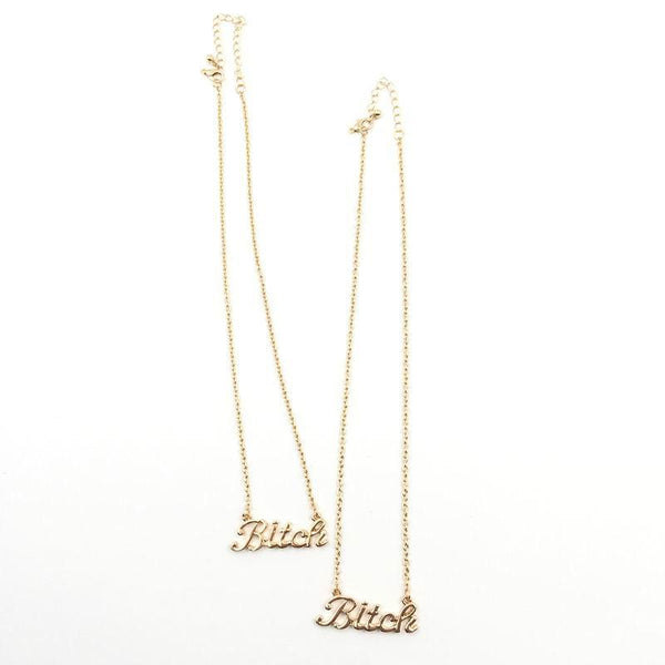 """B"" Necklace"