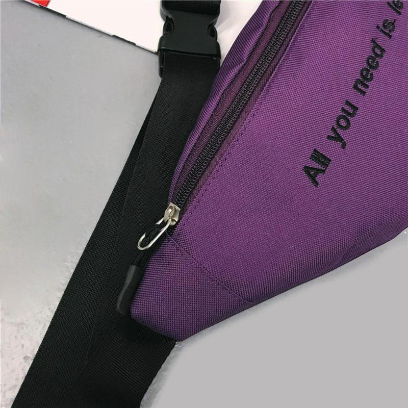"""All You Need Is Less"" Bum Bag"