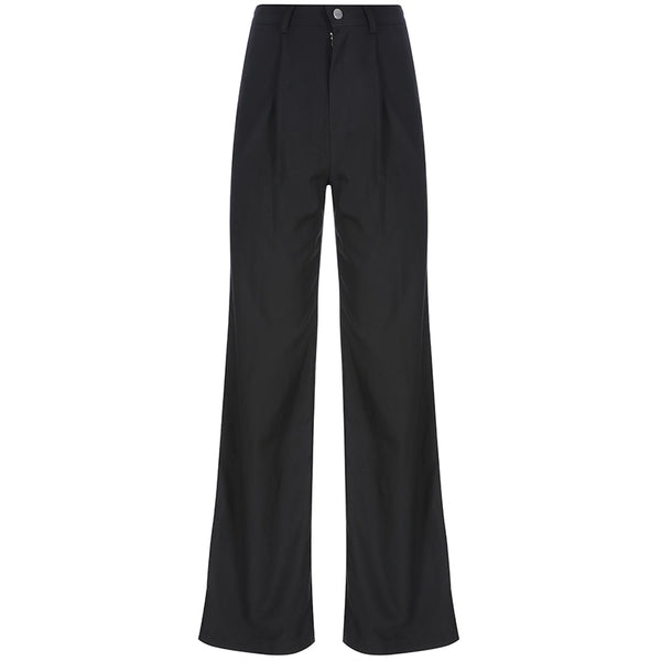 Casual Wide Leg Trousers