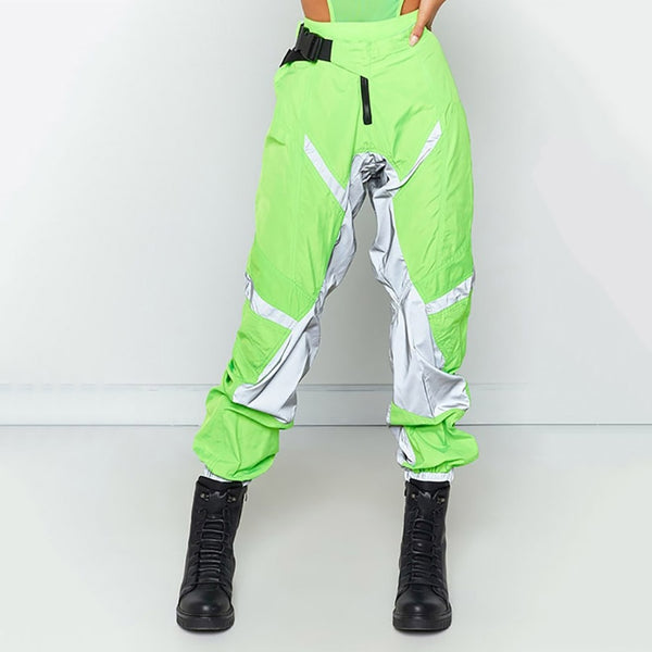 Neon Reflective Joggers