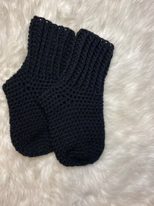 Crochet Crew Socks