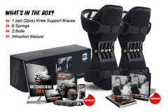 1 Pair (2pcs) KneesHelp™ + Premium Package