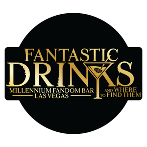 Millennium Fandom Bar Fantastic Drinks T-Shirt Series