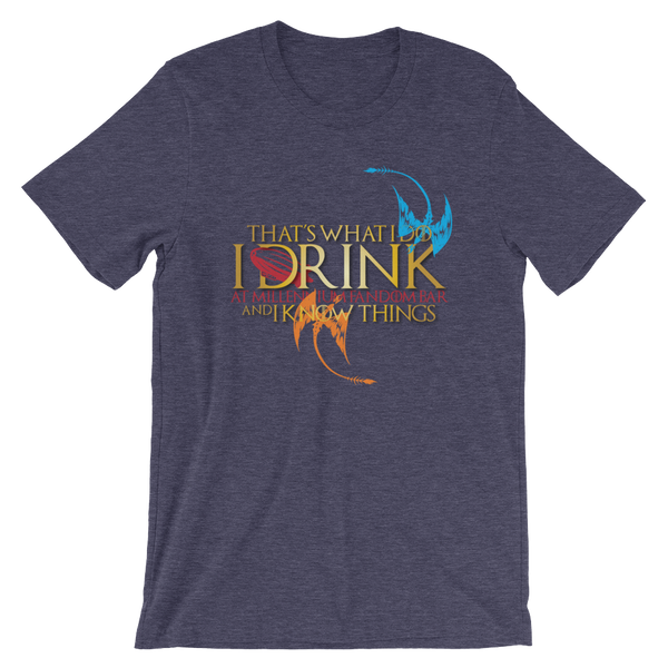 Fandom of Thrones - A Game of Thrones Themed Short-Sleeve Unisex T-Shirt in Heather Midnight Navy