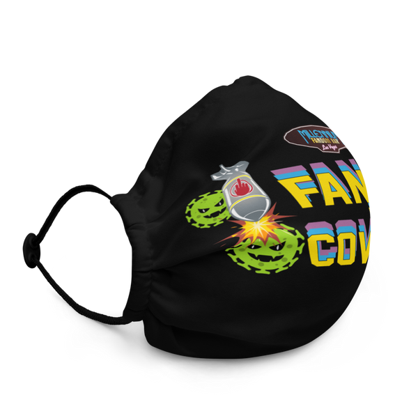 SPECIAL EDITION: Fandom vs Covid-19 - A Space Invader Themed Face Mask Cover