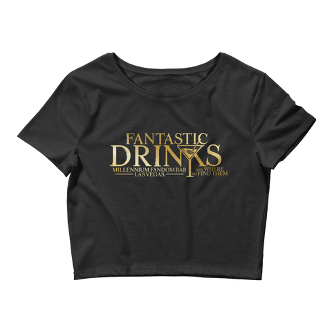 Fantastic Drinks Women's Crop Tee