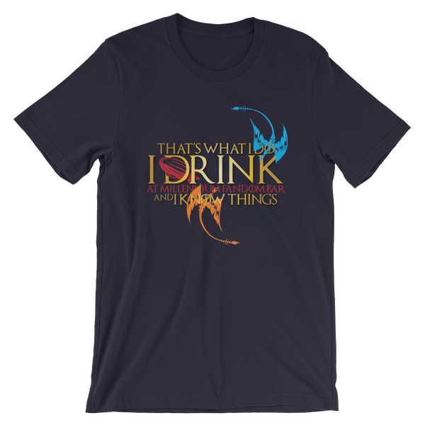 Fandom of Thrones - A Game of Thrones Themed Short-Sleeve Unisex T-Shirt in Navy