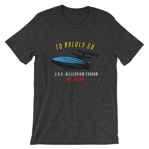 To Boldly Go - A Star Trek Themed Short-Sleeve Unisex T-Shirt