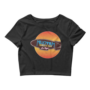 Wormhole Women's Crop T-Shirt