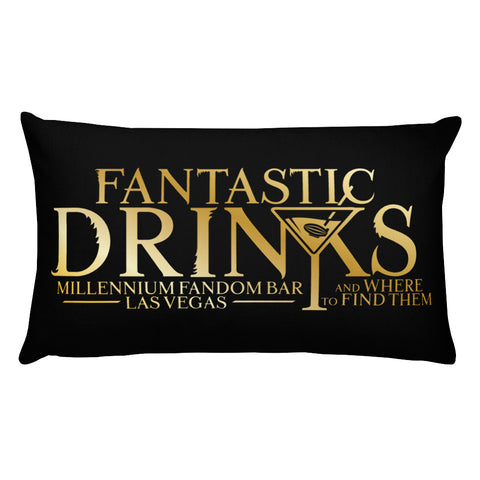 Fantastic Drinks Basic Pillow